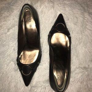 Dark brown SO heels